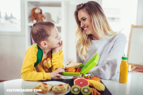 Consejos para preparar almuerzos saludables para niños, sin estrés
