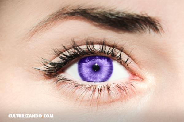 ¿Ojos color violeta? Una fascinante mutación genética
