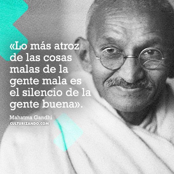 frases deMahatma Gandhi