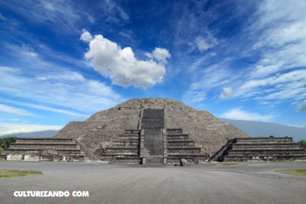 """La """"cámara del inframundo"""" en la Pirámide de la Luna"""