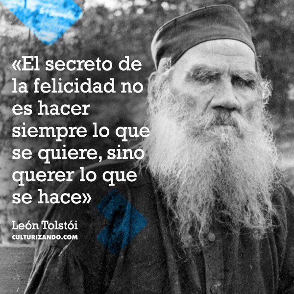 Lo mejor de León Tolstói (+Frases)