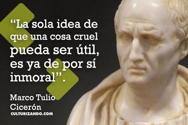 ¿Quién fue Marco Tulio Cicerón? (+Frases)