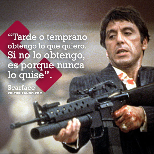 Scarface Al Pacino Culturizandocom Alimenta Tu Mente