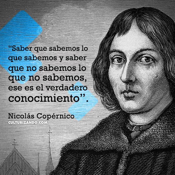 FRASES Nicolas Copernico