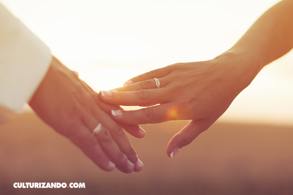 anillo de bodas dedo anular
