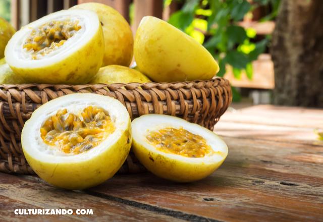 parchita maracuya fruta de la pasion