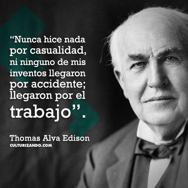 frases Thomas Edison