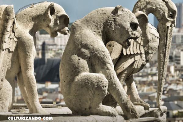 5 secretos que esconden las gárgolas protectoras de Notre Dame