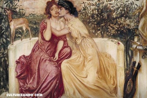 Safo de Lesbos, la poetisa que mantuvo relaciones lésbicas con sus pupilas