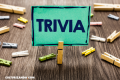 Trivia: Dos mentiras y una verdad