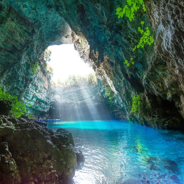 cueva de Melissani