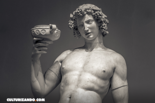 El doble nacimiento de Dioniso, el dios del vino, las fiestas y el placer
