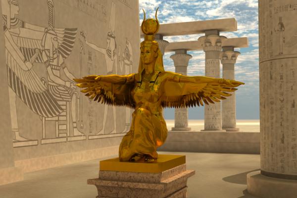 Conoce la historia de Isis, la diosa del más allá