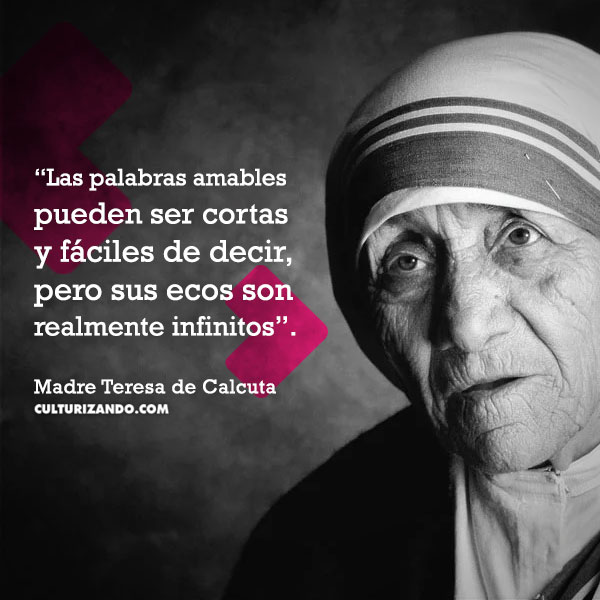 frases Madre Teresa De Calcuta