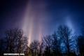 ¿Cómo se forman los misteriosos pilares de luz?