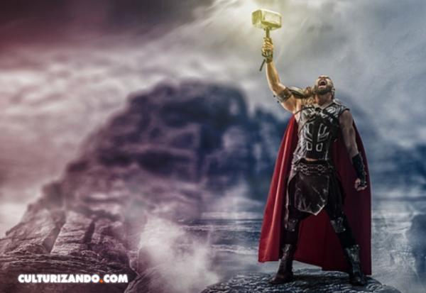 Thor y su boda con el Rey de los Gigantes para recuperar el Mjolnir