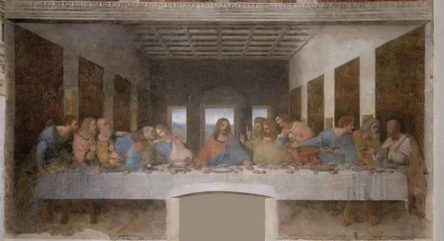 "La última cena"" de Da Vinci"