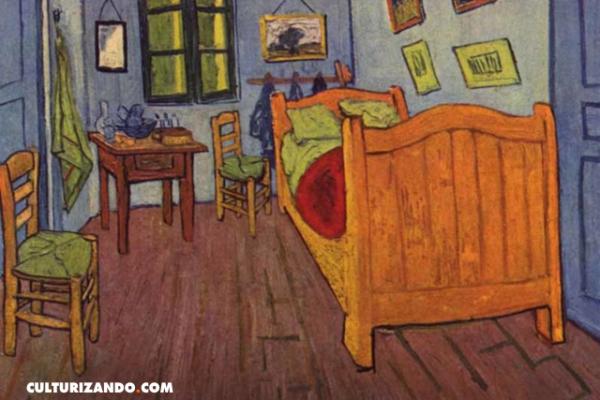 'El dormitorio en Arlés', la pintura que intentó apaciguar la locura de Van Gogh