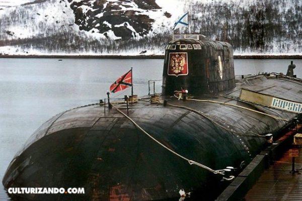 La catástrofe del Kursk, el submarino nuclear ruso