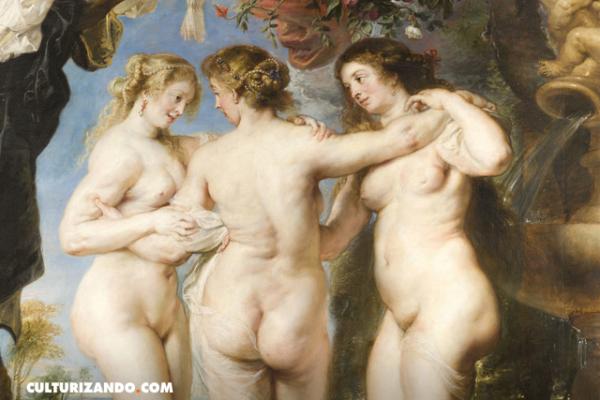¿Conoces esta obra? 'Las tres Gracias' de Rubens