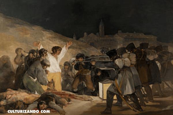 ¿Qué representa 'Los fusilamientos del 3 de mayo'?, considerada como la primera obra de arte contemporáneo