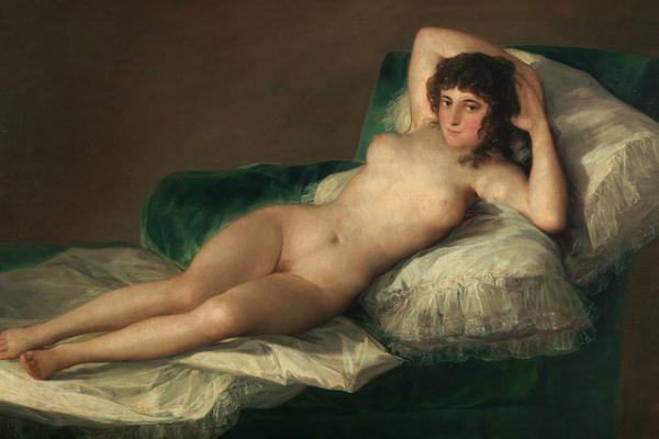 La representación del erotismo en 'La maja desnuda' de Goya