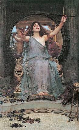 Representación de Circe