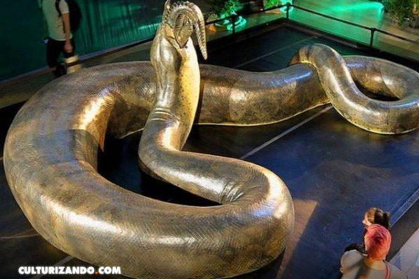La 'Titanoboa', la serpiente más grande de la historia