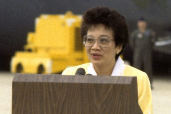 Corazón Aquino, la filipina que llegó a la presidencia