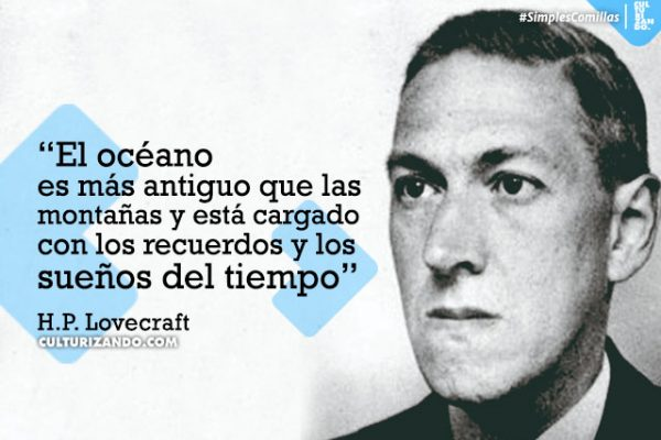 La historia de H. P. Lovecraft, la mente detrás del horror cósmico (+ Frases)