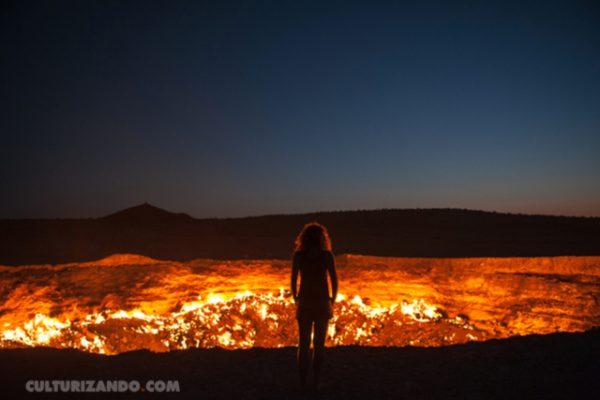 La puerta al infierno existe y queda en Turkmenistán