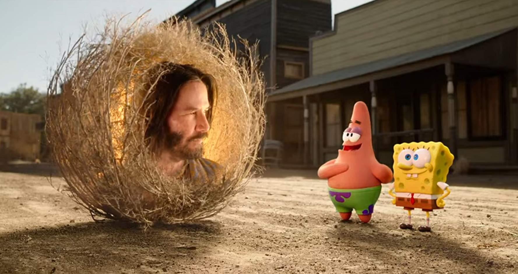 Keanu Reeves en The Bobsponge movie