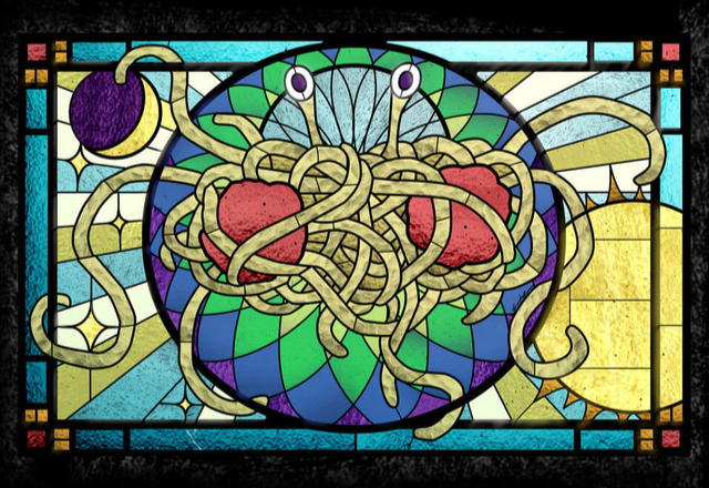 Monstruo de Espagueti Volador