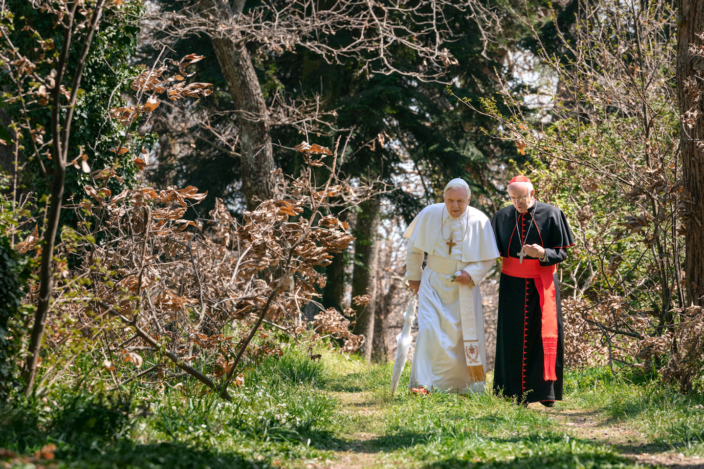 the two popes - los dos papas - netflix