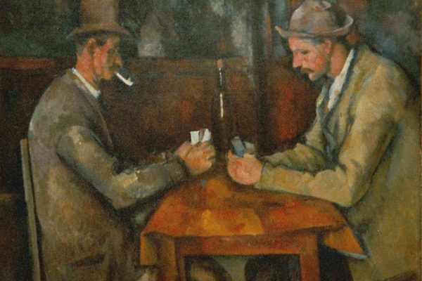 'Los jugadores de cartas', la pintura de Paul Cézanne que sentó las bases cubismo
