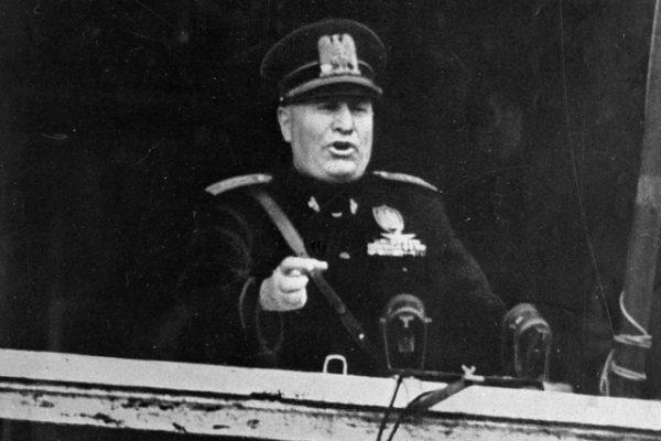 El ascenso y la caída de Benito Mussolini