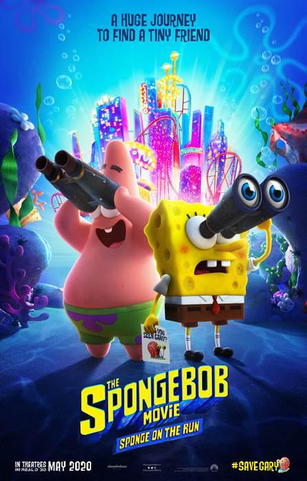 Póster de The Spongebob Movie: Sponge On The Run