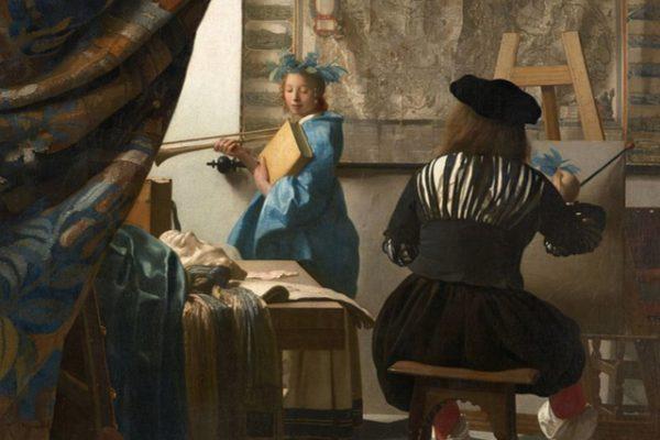 'El arte de la pintura', la icónica obra barroca de Johannes Vermeer