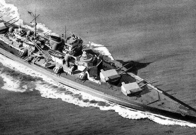 Tirpitz acorazado