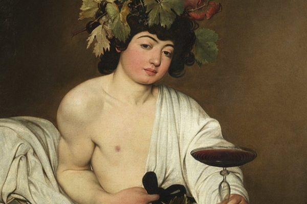 'Baco': el retrato de Caravaggio sobre la fugacidad de los placeres