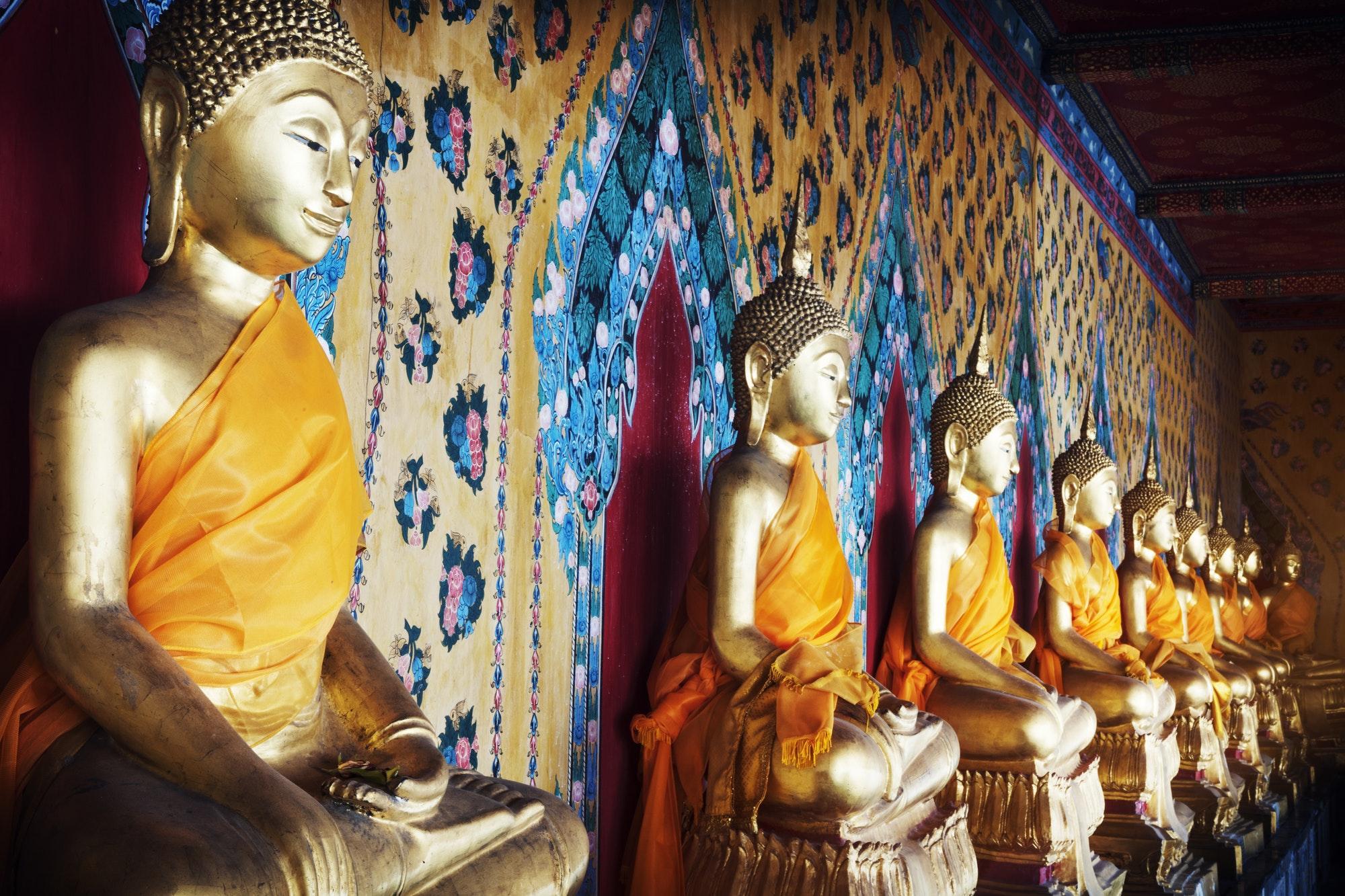 Buddha Statue Culture Faith Heritage Meditation Concept