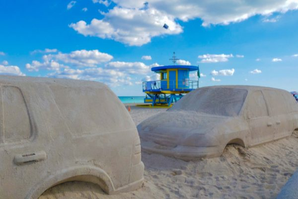 La semana del arte de Miami desde Miami Beach