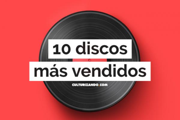 Los 10 discos más vendidos a nivel mundial