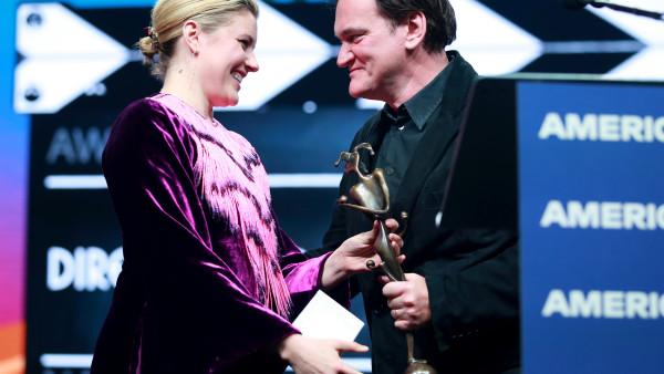 """Greta Gerwig: """"Quentin Tarantino hace películas como si estas pudieran salvar al mundo"""""""
