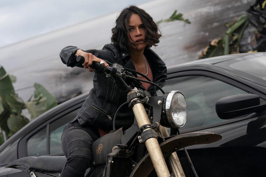 Michelle Rodriguez es Letty in ´Rápidos y Furiosos 9'