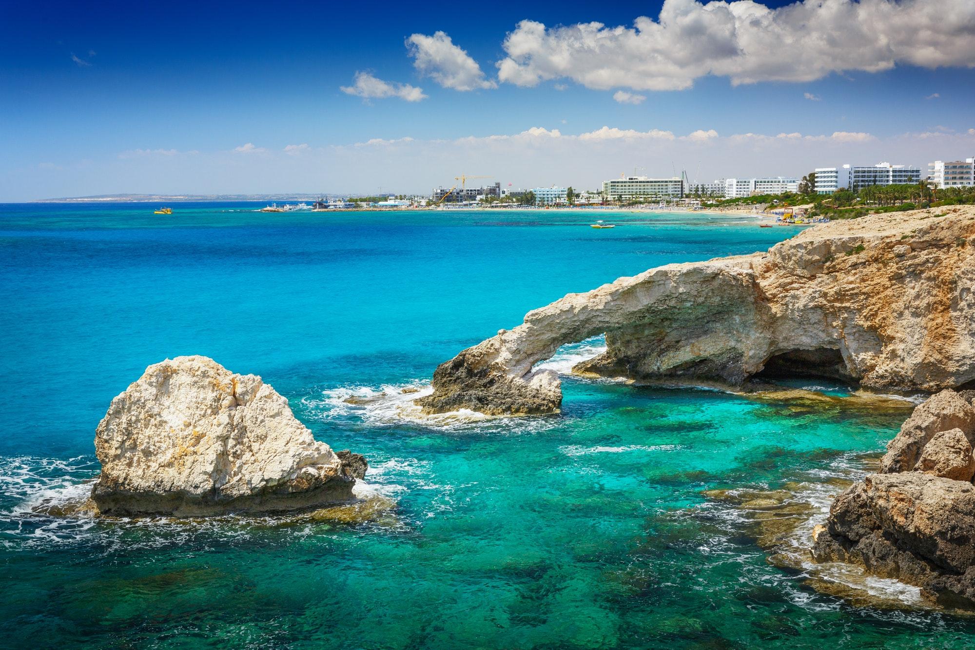 Bridge Lovers Near Ayia Napa, Cyprus