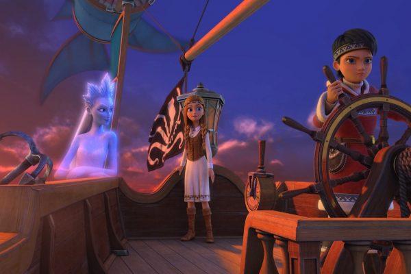 'La Reina de las Nieves en la Tierra de los Espejos', una película basada en una historia de Hans Christian Andersen