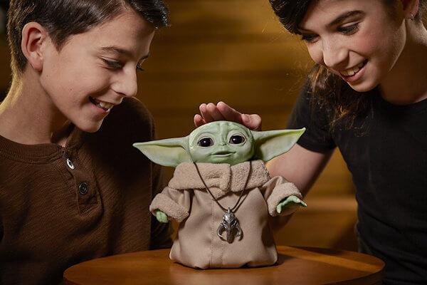 Juguetes 'Baby Yoda' saldrán a la venta en marzo