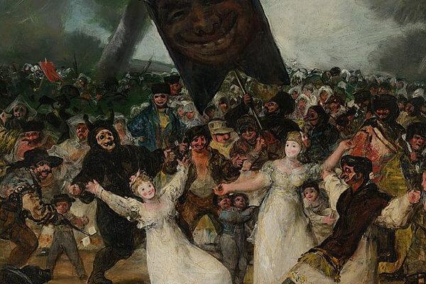 'El entierro de la sardina': Francisco de Goya y el preludio de las «pinturas negras»