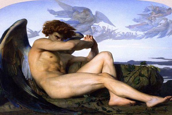 'El ángel caído': El retrato de la ira de Lucifer